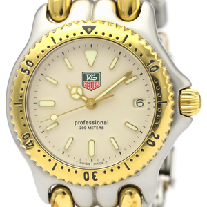 TAG HEUER Sel 200M Gold Plated Steel Mid Size Watch S95.713