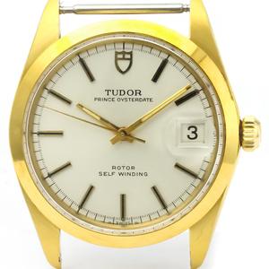チュードル(Tudor) プリンス・オイスター・デイト 自動巻き ゴールドプレーティング(GP) メンズ ドレスウォッチ 9050/1