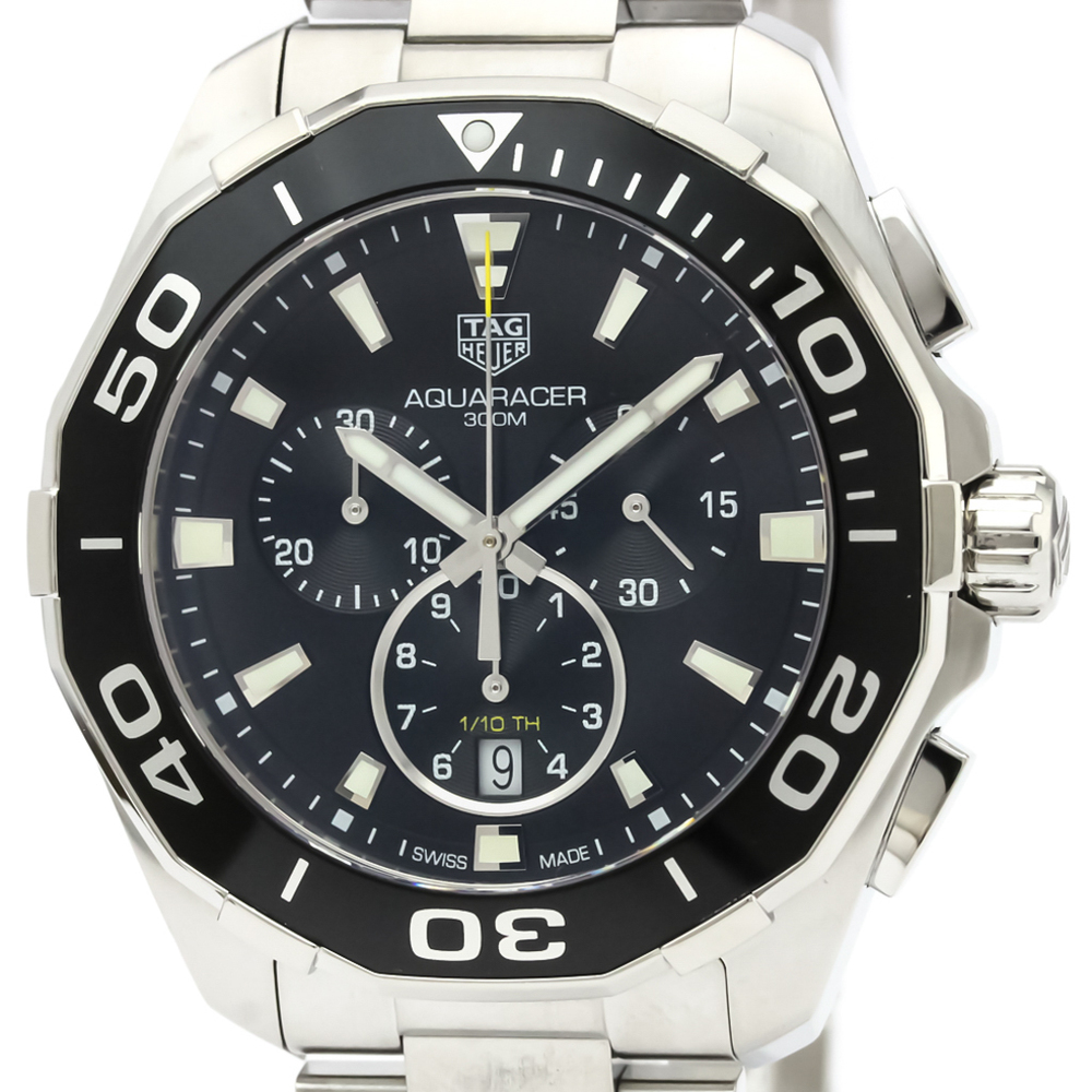 Tag Heuer Aquaracer Quartz Stainless Steel Men's Sports Watch CAY111A