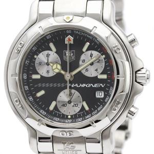 Tag Heuer 6000 Series Quartz Stainless Steel Men's Sports Watch CH1114