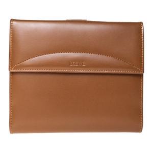 【中古】ロエベ(Loewe) レザー 財布(二つ折り) ブラウン