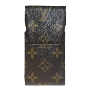 Auth Louis Vuitton Monogram Cigarette Case M63024 Etuj Cigarette