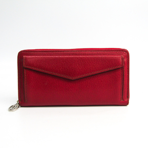 カルティエ(Cartier) コレクション・レ・マスト レディース レザー 長財布(二つ折り) レッド