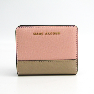 Marc Jacobs M0013708  Saffiano Leather Wallet (bi-fold) Beige,Bordeaux,Light Pink