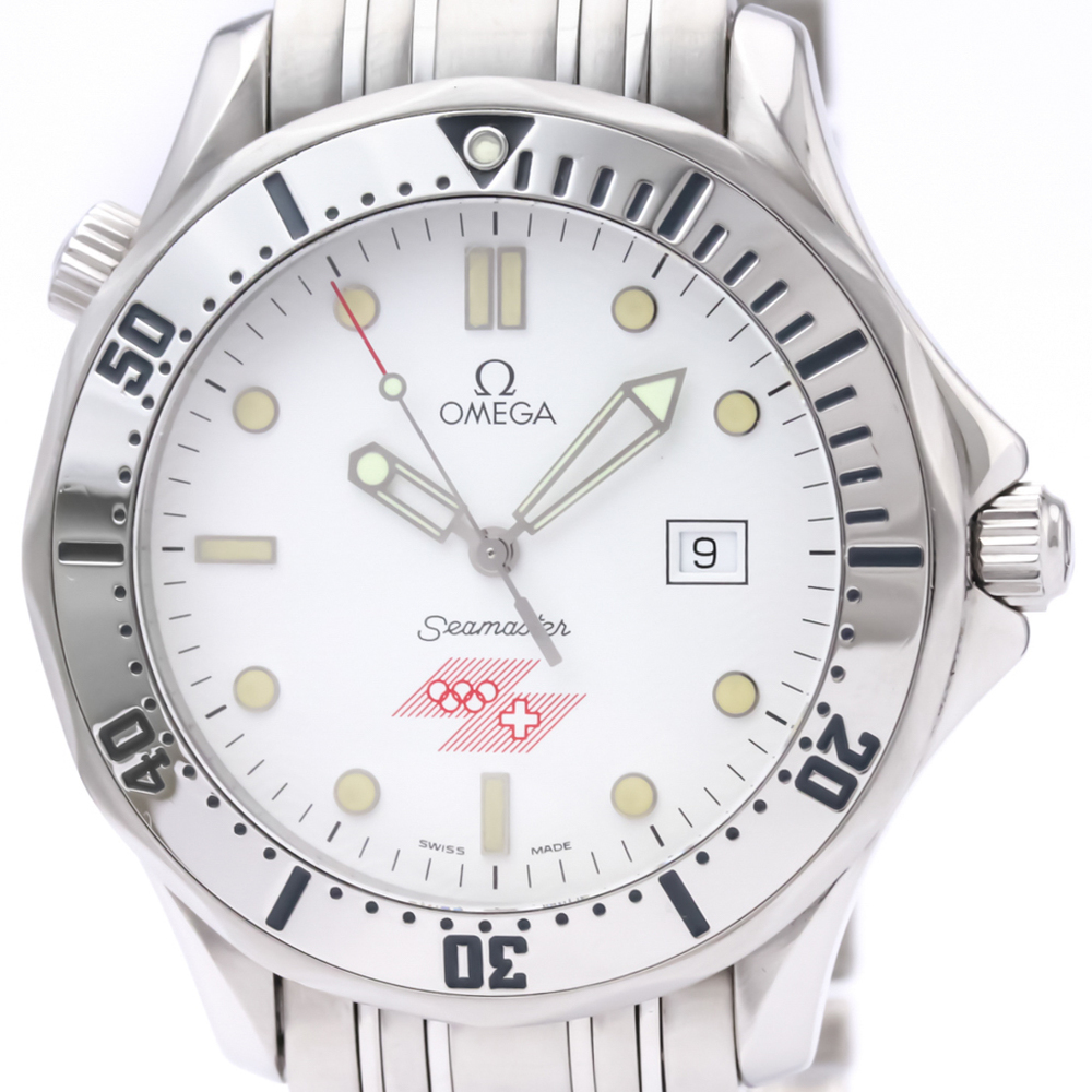 Omega Seamaster Quartz Stainless Steel Men's Sports Watch 2842.21.53