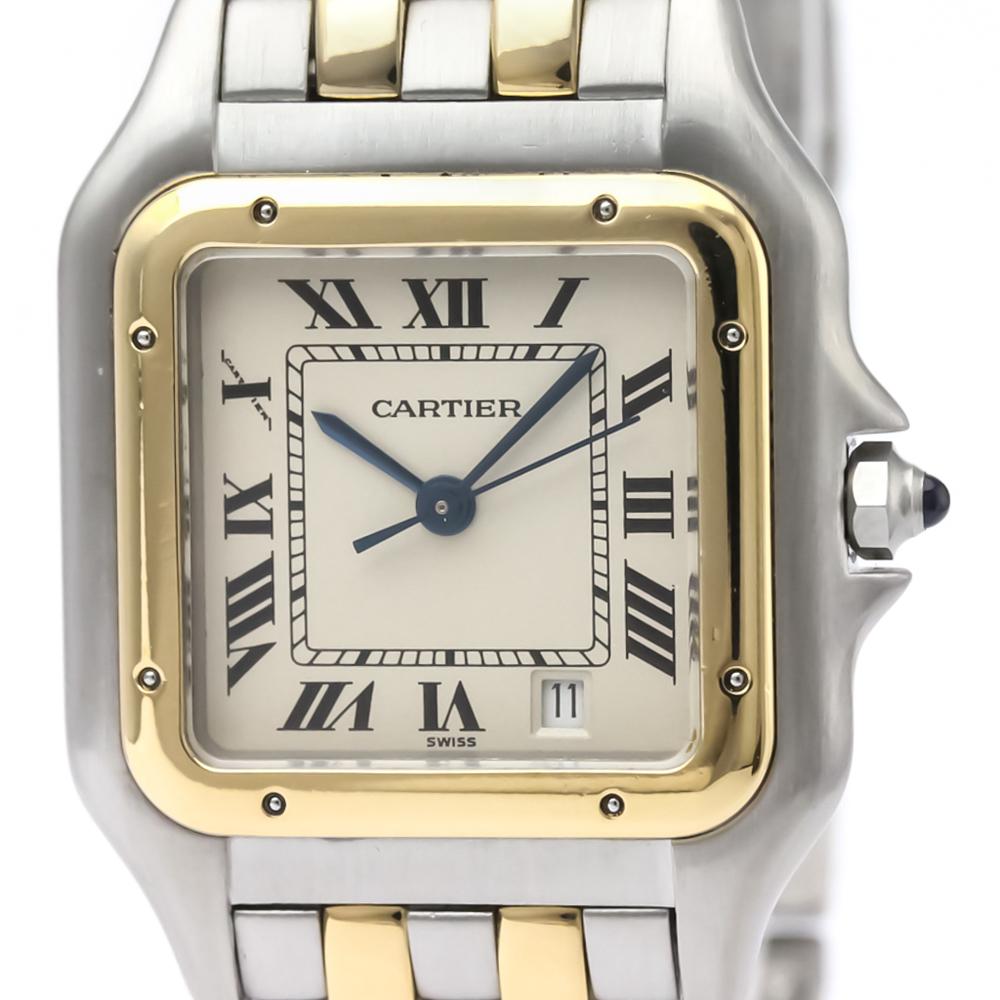 Cartier Panthere De Cartier Quartz Stainless Steel,Yellow Gold (18K) Women's Dress Watch 183949