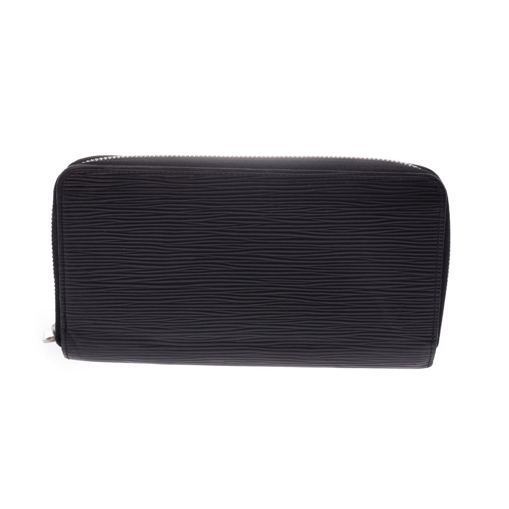 e6d9a10856f3 Used Louis Vuitton Epi Zippy Wallet Black M60072 Men s Women s ◇