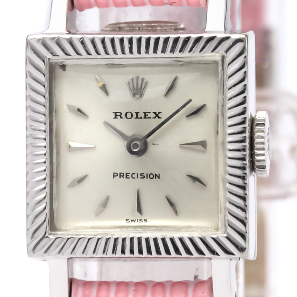 premium selection 88293 e9c76 ロレックス(Rolex) プレシジョン 手巻き ステンレススチール(SS) レディース ドレスウォッチ   eLady.com