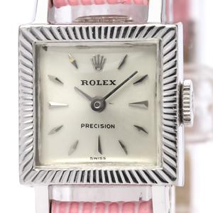 Rolex Precision Mechanical Stainless Steel Women's Dress Watch
