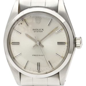 Rolex Oyster Precision Mechanical Stainless Steel Men's Dress Watch 6426