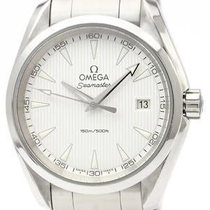 【OMEGA】オメガ シーマスター アクアテラ ステンレススチール クォーツ メンズ 時計 231.10.39.61.02.001