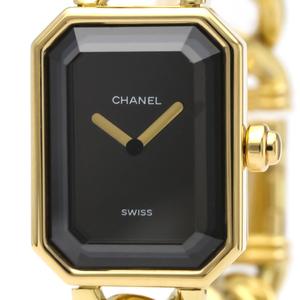 シャネル(Chanel) プルミエール クォーツ K18イエローゴールド(K18YG) レディース ドレスウォッチ H0003