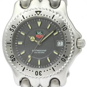 【TAG HEUER 】タグホイヤー セル プロフェッショナル 200M ステンレススチール クォーツ メンズ 時計 WG1113