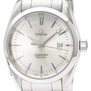 【OMEGA】オメガ シーマスター アクアテラ ステンレススチール クォーツ メンズ 時計 2518.30