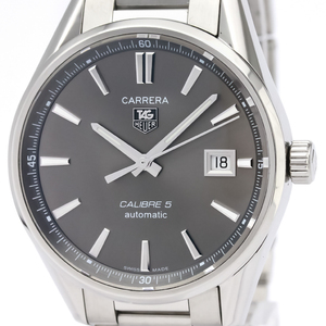 Tag Heuer Carrera Automatic Stainless Steel Men's Sports Watch WAR211C