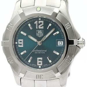 Tag Heuer 2000 Series Quartz Stainless Steel Men's Sports Watch WN1115