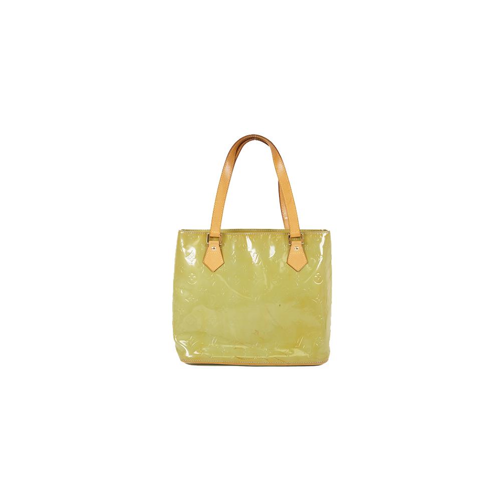 Auth Louis Vuitton Shoulder Bag Monogram Vernis Houston  M91005