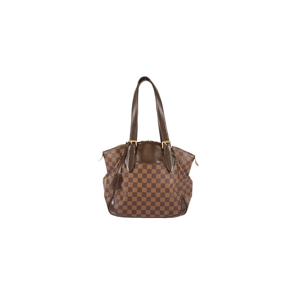 Auth Louis Vuitton Shoulder Bag Damier Verona MM N41118