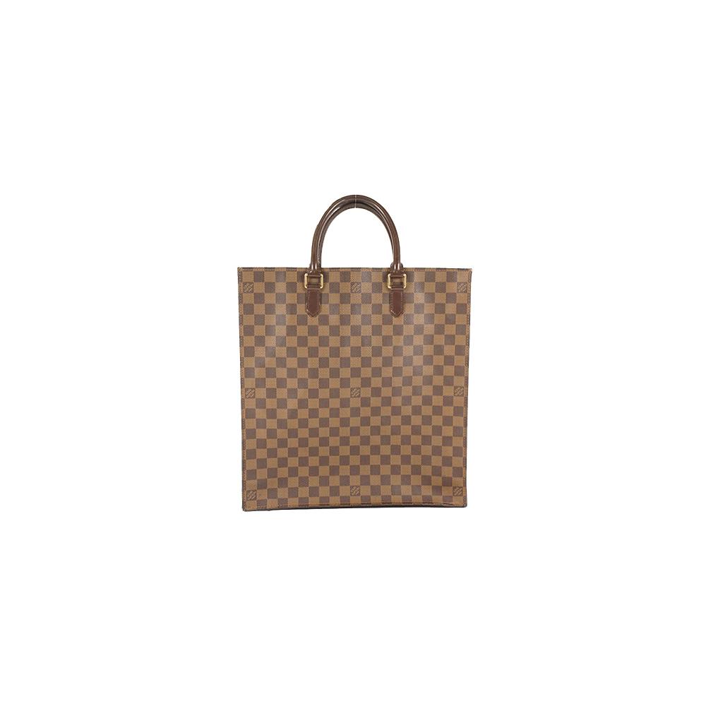 Auth Louis Vuitton Tote Bag Damier Sac Plat N51140