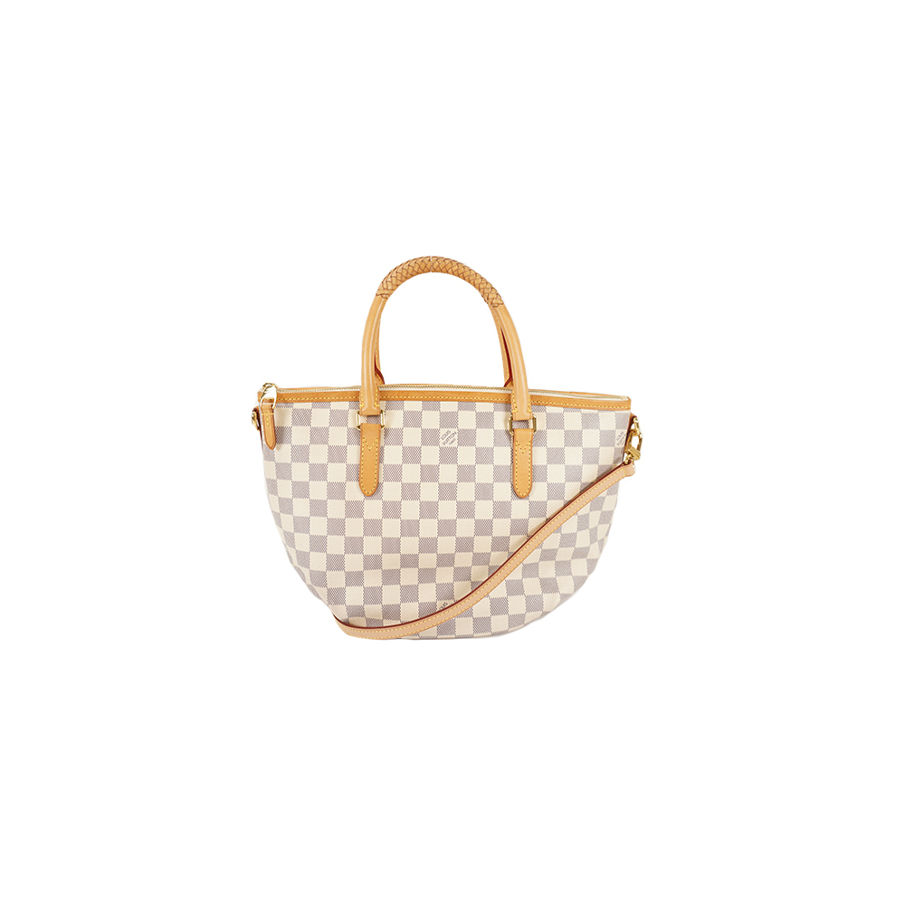Auth Louis Vuitton Handbag Damier Azur Riviera PM N48250