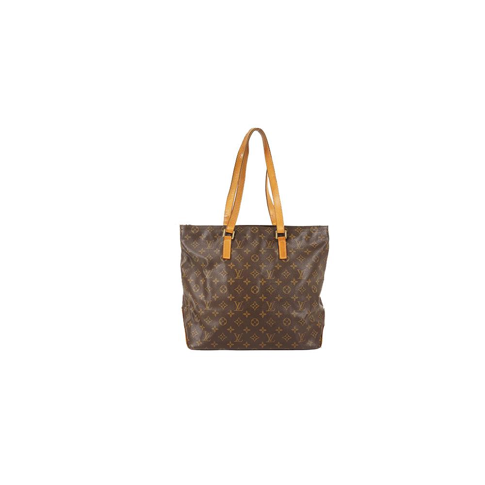 Auth Louis Vuitton Tote Bag Monogram Cabas Mezzo M51151