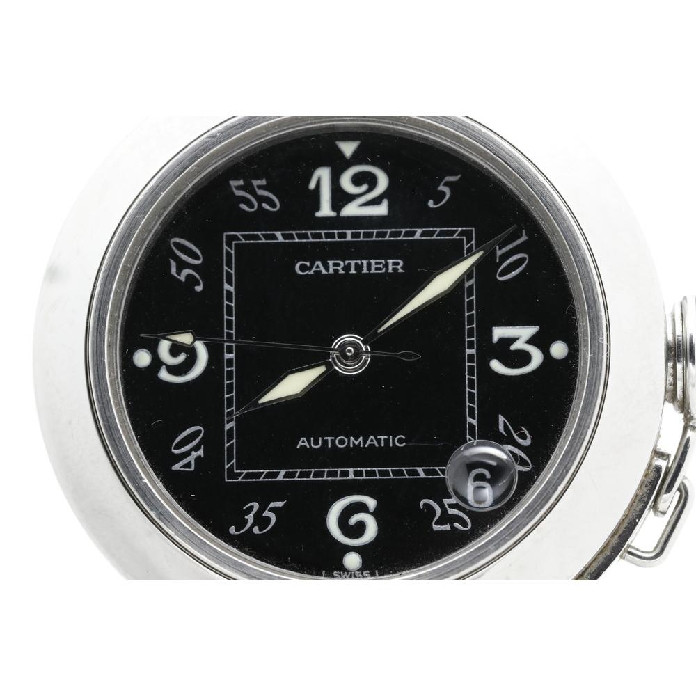 Cartier Pasha De Cartier Pasha C Automatic Stainless Steel Unisex Dress Watch W31043M7