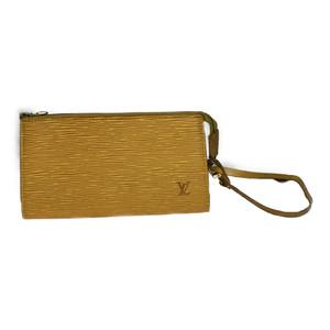 【中古】ルイ・ヴィトン(Louis Vuitton) エピ M52949 アクセソワール ハンドバッグ ポシェット ポーチ イエロー