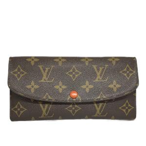 ルイ・ヴィトン(Louis Vuitton) モノグラム M62011 ポルトフォイユ エミリー 長財布(二つ折り)サンライズ
