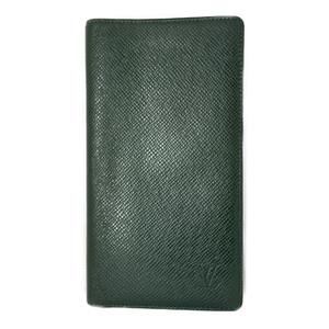 ルイ・ヴィトン(Louis Vuitton) タイガ M30394 ポルトバルール カルトクレディ 長札入れ(二つ折り)エピセア