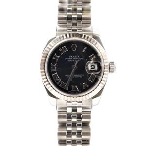Rolex Datejust Automatic Stainless Steel Women's Dress Watch 179174
