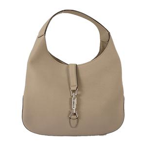 Auth Gucci Shoulder Bag New Jackie Grayish