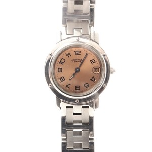 Hermes Clipper Quartz Stainless Steel Women's Dress Watch CL4.210