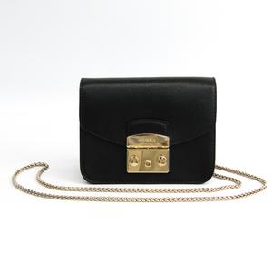 Furla Metropolis 820676 Women's Shoulder Bag Black