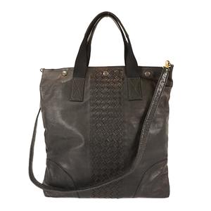 Auth Bottega Veneta Intrecciato Shoulder Bag
