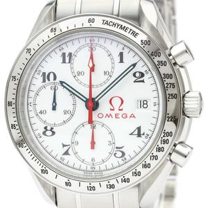 【OMEGA】オメガ スピードマスター デイト ステンレススチール 自動巻き メンズ 時計 3515.20