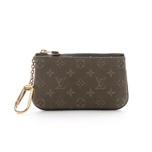 Louis Vuitton Monogram Mini Pochette Clere Key Case Unisex Canvas Wallet Khaki