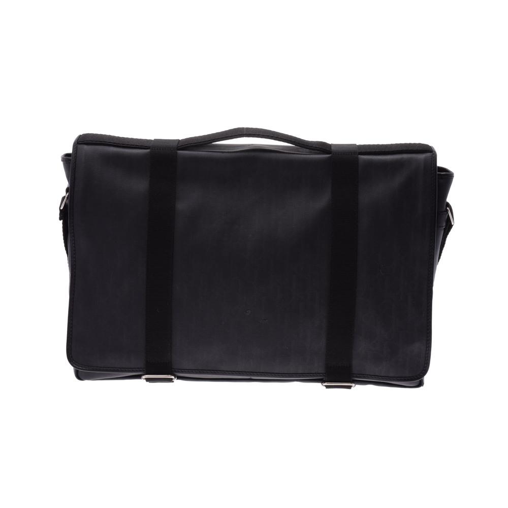 クリスチャン・ディオール(Christian Dior) Shoulder bag PVC ショルダーバッグ ブラック