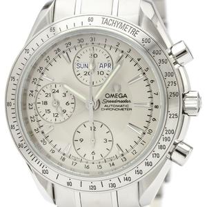【OMEGA】オメガ スピードマスター デイデイト ステンレススチール 自動巻き メンズ 時計 3221.30