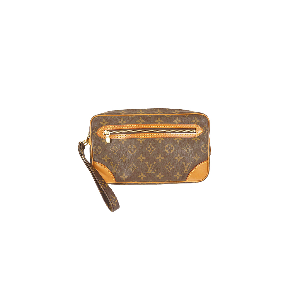b9c55419d04b Auth Louis Vuitton Clutch Bag Monogram Marly Dragonne M51825