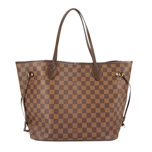 0ac64a6b969f Auth Louis Vuitton Tote Bag Damier Neverfull MM N41358