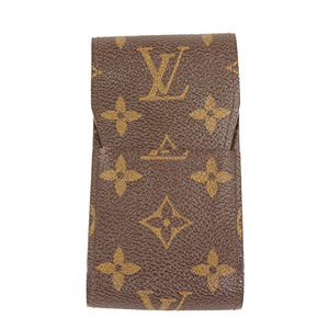 Auth Louis Vuitton Cigarette Case Monogram Eteyui cigarette M63024