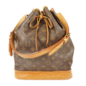 Auth Louis Vuitton Shoulder Bag Monogram Noe M42224