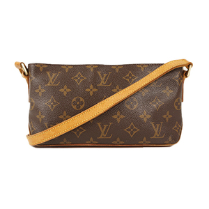 Auth Louis Vuitton Shoulder bag Monogram Trotteur M51240