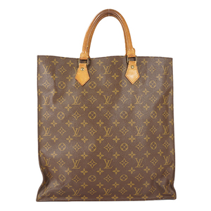 Auth Louis Vuitton Tote bag Monogram Sac Plat M51140