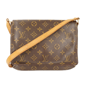 Auth Louis Vuitton Shoulder Bag Monogram Musset Tango Long M51388
