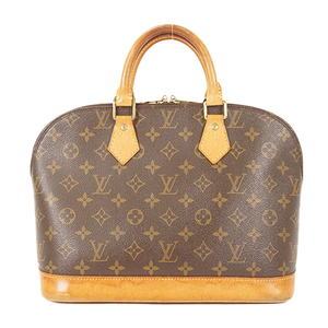 Auth Louis Vuitton Handbag Monogram Alma M51130