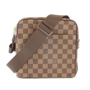 Auth Louis Vuitton Shoulder Bag Damier Olaf PM N41442
