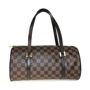 Auth Louis Vuitton Damier N51303 Women's Handbag Ebene