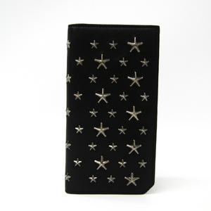 ジミー・チュウ(Jimmy Choo) COOPER メンズ レザー 長財布(二つ折り) ブラック