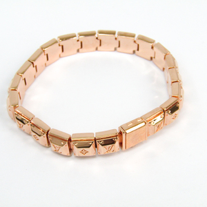 Louis Vuitton Nanogram-tennis-bracelet M64649 Metal Bracelet Pink Gold